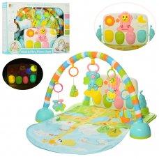 Развивающий коврик для младенца с игровой панелью, 8502-1