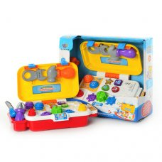 Развивающая игрушка набор инструментов Говорящий чемоданчик, Limo Toy M 1361 U/R