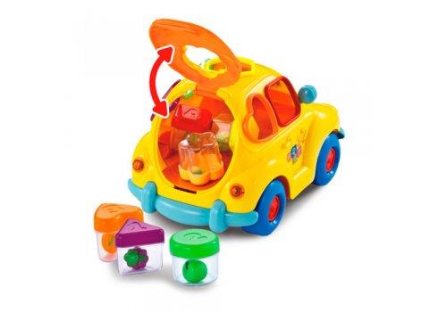 Сортер и музыкально-обучающая игрушка — каталка Автошка Limo Toy, 9170