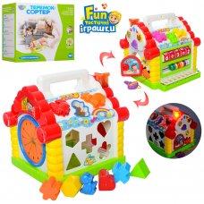 Развивающая игрушка-сортер Теремок Hola 9196