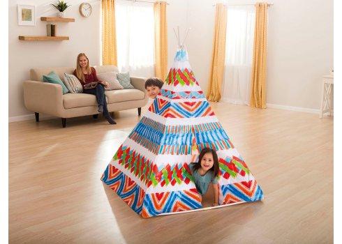Детский игровой домик-палатка Виг-вам Intex 48629