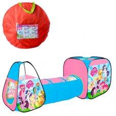 Детская двойная палатка с тоннелем My Little Pony M 5793