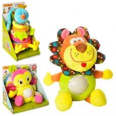 Развивающая игрушка Плюшевое животное X11820-21
