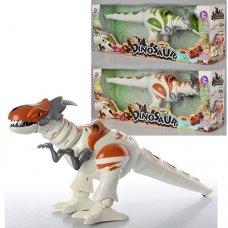 Динозавр с музыкальными и световыми эффектами, ходит, TT329