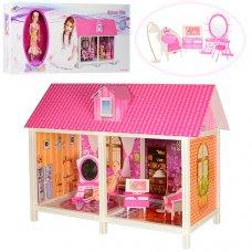 Домик для куклы на 2 комнаты с мебелью 66882