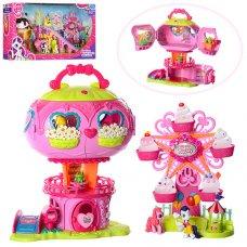 Домик My Little Pony с каруселью, музыкальными и световыми эффектами 733-755