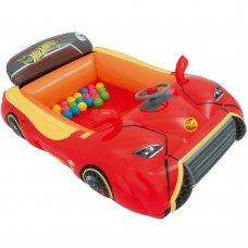 Детский надувной игровой центр Hot Wheels с шариками BestWay 93404