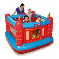 """Детский надувной игровой центр-батут """"Крепость Fisher Price"""" с шариками BestWay 93504"""