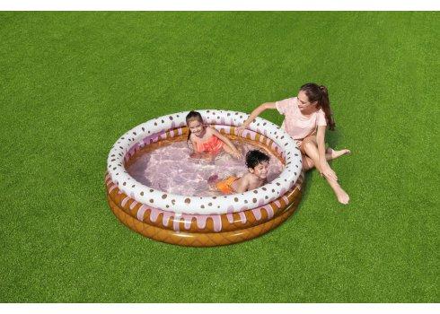 """Надувной детский бассейн """"Мороженое"""" 160х38 Bestway 51144"""