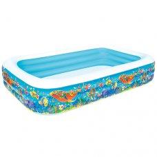 Детский надувной бассейн Подводный мир 305х183х56см, Bestway 54121