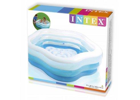 Детский надувной бассейн Морская звезда 185х180х53 Intex 56495