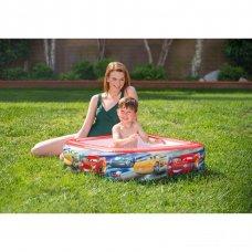 Детский надувной бассейн Intex 57101 Disney Cars (Тачки) 85х85х23 см