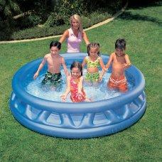 Детский надувной бассейн с мягкими стенками 188х46см, Intex 58431