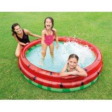 Детский надувной бассейн Intex 58448 Арбуз 168х38 см