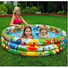 Детский надувной бассейн Дисней Винни Пух 147х33см, Intex 58915
