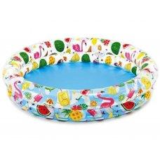Детский надувной бассейн Фрукты 122х25см, Intex 59421