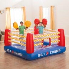 Детский надувной игровой центр-батут Боксерский ринг, Intex 48250