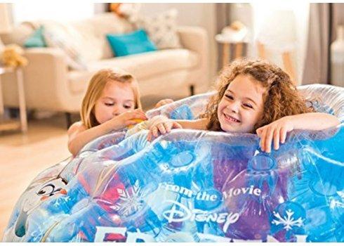 Детски надувной игровой центр-домик иглу Холодное сердце, Intex 48670