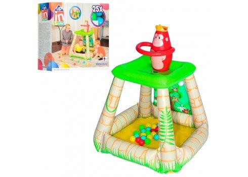 Игровой центр с шариками Джунгли BestWay 52266
