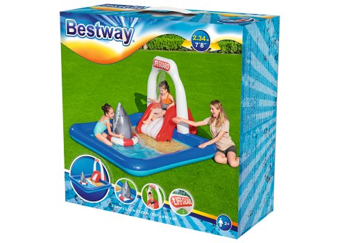 """Игровой центр-бассейн """"Станция спасения"""" BESTWAY 53079"""