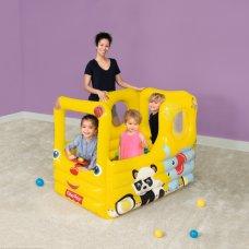 Игровой центр с шариками Fisher Price Вагончик, BestWay 93506