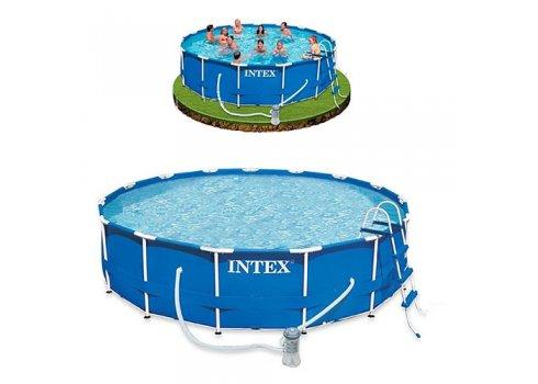 Бассейн каркасный с фильтр-насосом, Intex 28236