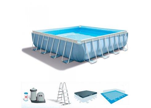 Бассейн каркасный с фильтр-насосом, Intex 28764