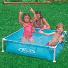 Детский каркасный бассейн Small Frame 122х122см, Intex 57173