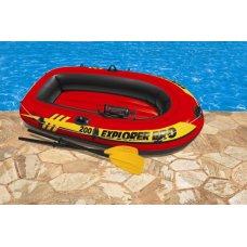 Лодка надувная Explorer Pro 200, Intex 58357