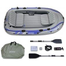 Лодка надувная Excursion 4 Set, Intex 68324