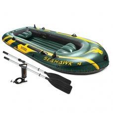 Лодка надувная SeaHawk 4, Intex 68351