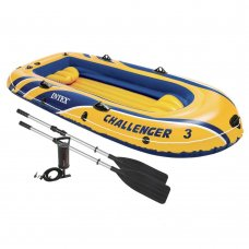 Лодка надувная Challenger 3, Intex 68370