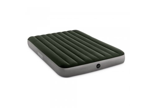 Двуспальный надувной матрас 203х152 Intex 64109 зеленый
