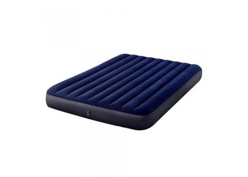 Двуспальный надувной матрас 203х152 с насосом Intex 64765