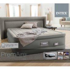 Двухспальная надувная кровать с встроенным насосом и USB 203х152см, Intex 64770