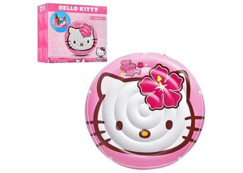 Надувной матрас круглый Hello Kitty, Intex 56513