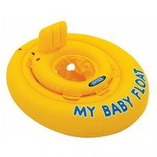 Надувной плотик-круг для детей от 6 месяцев, Intex 56585