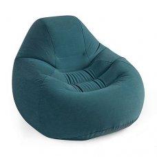 Велюровое надувное кресло Intex 68583