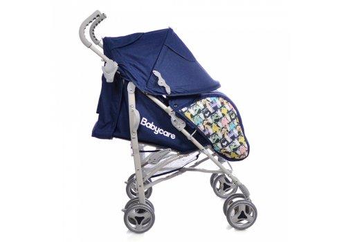 Детская коляска-трость Babycare Rider BT-SB-0002 Blue, ткань лен