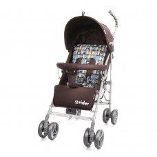 Детская коляска-трость Babycare Rider BT-SB-0002 Brown, ткань лен