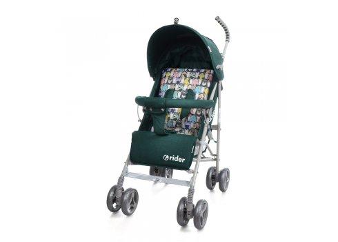 Детская коляска-трость Babycare Rider BT-SB-0002 Green, ткань лен