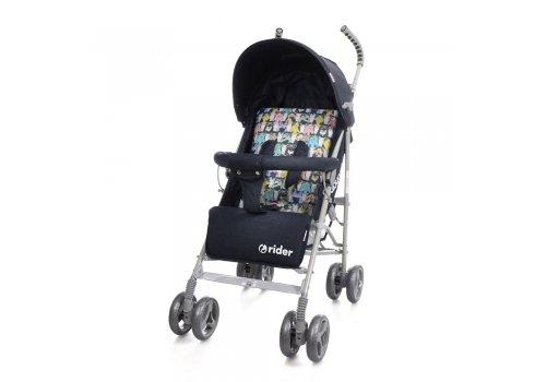 Детская коляска-трость Babycare Rider BT-SB-0002 Grey, ткань лен