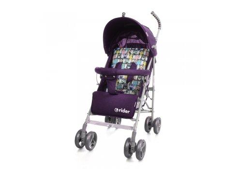 Детская коляска-трость Babycare Rider BT-SB-0002 Purple, ткань лен
