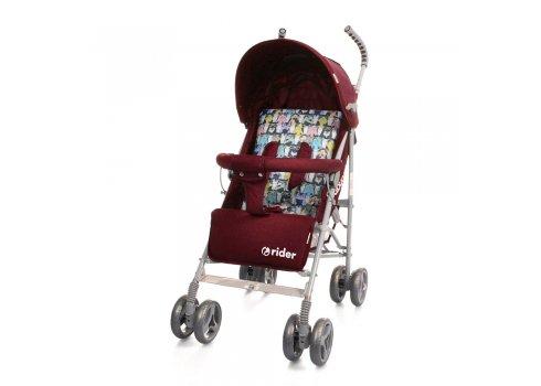Детская коляска-трость Babycare Rider BT-SB-0002 Red, ткань лен