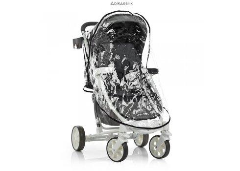 Всесезонная прогулочная коляска El Camino Zeta ME 1011L Graphite серый