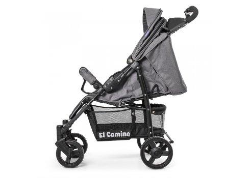 Детская прогулочная коляска El Camino Amulet, ME 1015L Cloud Gray