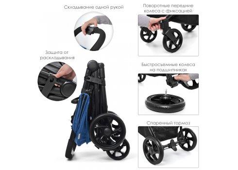 Прогулочная коляска El Camino Escape ME 1032L Denim Black