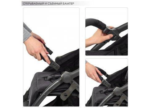 Прогулочная коляска Handy с автоматическим механизмом складывания, ME 1034L Graphite