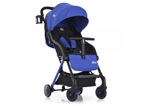 Детская прогулочная коляска El Camino Mimi ME 1036L Indigo