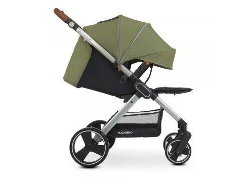 Детская прогулочная коляска-книжка EL CAMINO DYNAMIC ME 1053 Khaki хаки